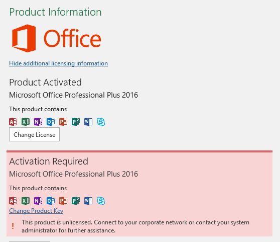 ms office 2016 plus product key free